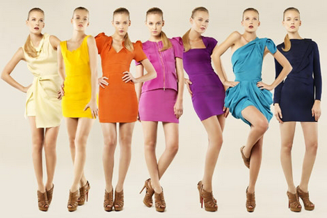 Цвет для одежды